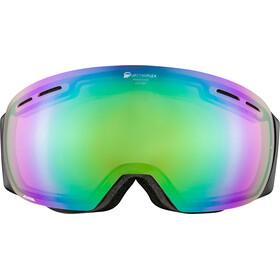 Alpina Granby QMM Lunettes de protection, black matt q green spherical